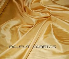100% Silk Habotai Fabric China Silk Habutai Gold Luxurious BY THE YARD
