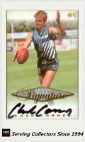 1998 Select AFL Series Draft Pick Signature Card SC14: Chad Cornes (Port Adel)