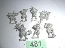 Warhammer Chaos Realm of Chaos Beastman Broo Plague Nurgle bits Pestigor Lot 481