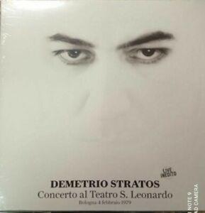 DEMETRIO STRATOS CONCERTO TEATRO S.LEONARDO.LIVE  INEDITO DEAGOSTINI PROG ROCK