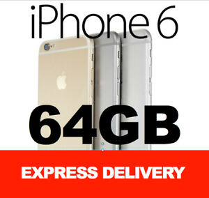 Apple iPhone 6 16GB 64GB 128GB 4G GENUINE FACTORY UNLOCKED SMARTPHONE