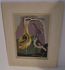 Original Color Woodblock By Colorado/New York Artist Ethel Magafan - Signed