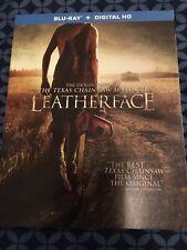 Leatherface Texas Chainsaw Massacre Blu-Ray + Digital Copy