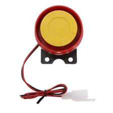 12V DC Motorcycle Electric Driven Air Raid Siren Horn Alarm Universal