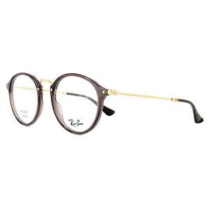 Ray-Ban Eyeglasses Frames 2447V 8032 Opal Brown Tortoise 47mm Mens