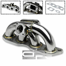 STAINLESS T3/T4 RACING SPORT TURBO MANIFOLD 07-08 HONDA FIT/JAZZ GD3 L15A1 2WD