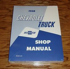 1958 Chevrolet Truck Shop Service Manual 58 Chevy Pickup