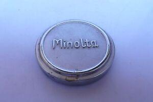 Minolta Original 43mm Metal front Lens Cap fits Canon Serenar rf 50mm f2 lens
