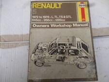 Renault 5 manual de Haynes