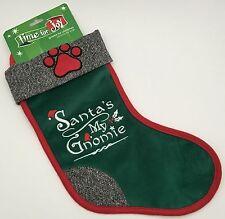 Santa's My Gnomie Dog Pet Paw Gnome For Christmas Stocking