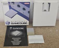 Boxed Nintendo GameCube 59 Memory Card