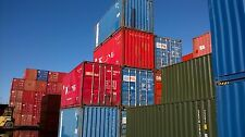Used 20' Shipping Containers For Sale From £1680 INC VAT (£1400 + VAT)