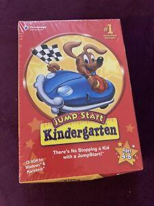 Jump Start Kindergarten Ages 4-6 Brand New Learning Cd Rom
