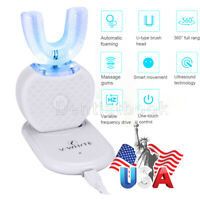 Automatic Electric Ultrasonic Oral Teeth Care Toothbrush Battery Power 360°
