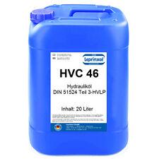 1x20l HVC 46 Hydraulikflüssigkeit HV ISO 46 HVLP 46 DIN 51524/3 20 Liter