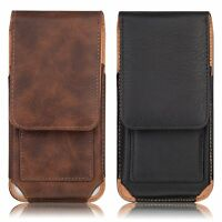 Leather Pouch Carrying Case with Swivel Belt Clip Holster for iPhone 6 8 Plus