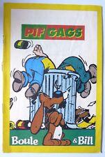 RARE BD SUPPLEMENT A PIF GADGET N°1110 BOULE ET BILL ROBA 1990