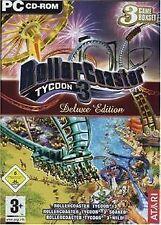 Rollercoaster Tycoon 3 - Deluxe Edition von NAMCO BANDAI... | Game | Zustand gut