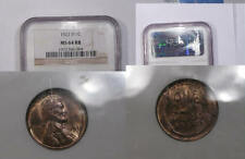 1922-D LINCOLN NGC MS64RB LOOKS BETTER TOUGH INV#327B-9
