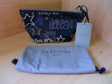 Liebeskind Kosmetiktasche mit Logo Graffiti Leder - Neu  - UVP 49,90