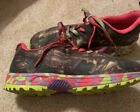 REALTREE GIRL Mamba Camo Pink Sneakers Athletic Hunting Hiking Shoes Women 6.5 M