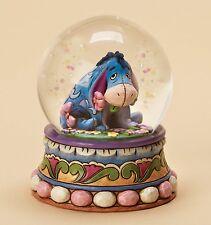 Disney Traditions Gloom To Bloom Eeyore Resin Figurine Snowglobe Xmas Gift Box