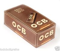 Ocb Virgin Regular papel de liar tabaco fumar , 50 libritos ,papel Corto. 69mms
