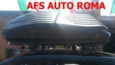 BOX AUTO PORTASCI BAULE G3 REEF 580+BARRE MERCEDES CLASSE B ANNO 2005 OMOLOGATE
