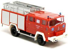 Brekina Heico 95885 Magirus Deutz LF 16 TS LKW Werk Feuerwehr ZF rot 1:87 H0