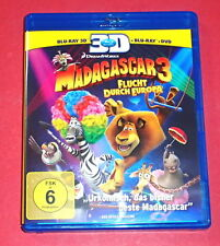 Madagascar 3-escape through Europe -- 3d-blu-ray + Blu-ray + DVD