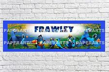 Personalized Rio 2 Name Poster with Paper Border Mat Art Wall Deco Banner