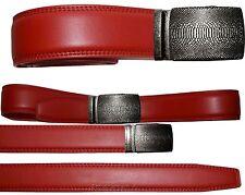 "Men's belt. Genuine Leather Dress/casual Belt Lizard Auto lock Buckle UP to 50""."