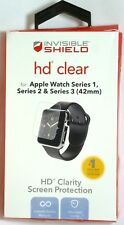 ZAGG - HD Clear Shield Screen Protector for Apple Watch 42mm - Clear