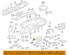 GM OEM Seat Track-End Cover Retainer 16754704