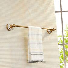 High Quality Antique Brass Bathroom Simple Towel Rail Storage Rack Bar Holder
