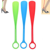 "12"" Long Plastic Shoe Horn Shoehorn Shoe Helper Easy Sturdy Slip Random>s J SJFF"