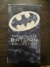 "Previously Viewed VHS MOVIE~""THE ULTIMATE BATMAN COLLECTION"" - 3 Tape Box Set ~"