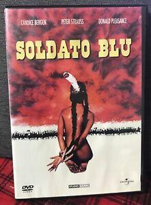 Soldato Blu DVD Candice Strauss Pleasance Raph Nelson Copeertina Come Da Foto