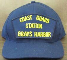 New Uscg Us Coast Guard baseball hat cap Station Greys Harbor Washington