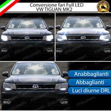 KIT FARI FULL LED VW TIGUAN MK2 ANABBAGLIANTI ABBAGLIANTI E LUCI POSIZIONE 6000K
