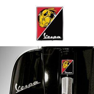 Vespa GTS GTV GT Horn crest decal 125 200 250 300 Red Black