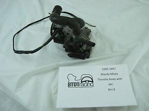 Mazda Miata throttle body with IAC (no TPS) fits years 95-97