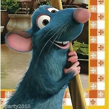 RATATOUILLE LARGE NAPKINS (16) ~ Birthday Party Supplies Dinner Luncheon Disney
