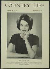 Caroline York / Nuttall Long Marston Manor 1960 1 Page Photo Article