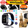 X6 Curved Screen Bluetooth Smart Watch Phone Mate for Samsung/iPhone/Android LD