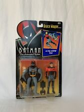 Batman the Animated Series Bruce Wayne w/snap on Batman Armor Kenner ,MOC 1992 +
