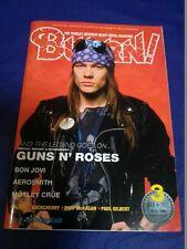 Burrn! Japanese Heavy Metal Magazine 03/2012 Guns n' Roses Aerosmith