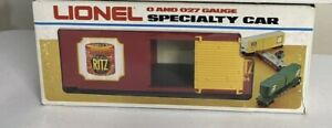 ✅RARE LIONEL NABSICO RITZ HI CUBE BOX CAR ONLY 400 MADE 1984 MPC FREIGHT HIGH