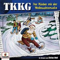 TKKG - FOLGE 203: DER RÄUBER MIT DER WEIHNACHTSMASKE   CD NEW