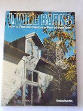 Very Nice Living Barns Book-1977 1st Edition